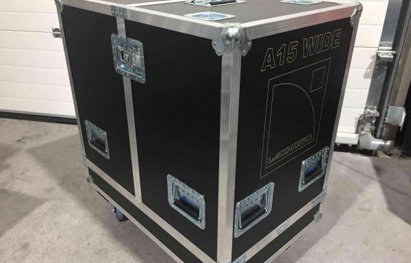 Flight case for 2pcs L'Acoustics A15 Wide (NEW)