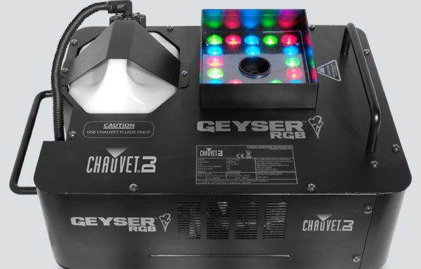 Chauvet Geyser RGB Smoke Machine (used)