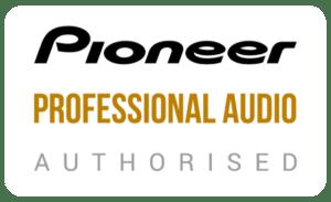 Authorised Pioneer professional Audio