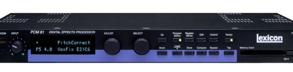 Lexicon PCM81 Digital Effects Processor (used)