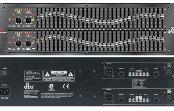 DBX 2231 Graphic Equalizer/Limiter with type III Noise Reduction (used)