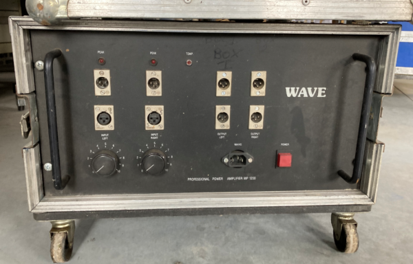 Wave 1200 Amplifier (used)